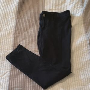 Express stretchy black pants size medium